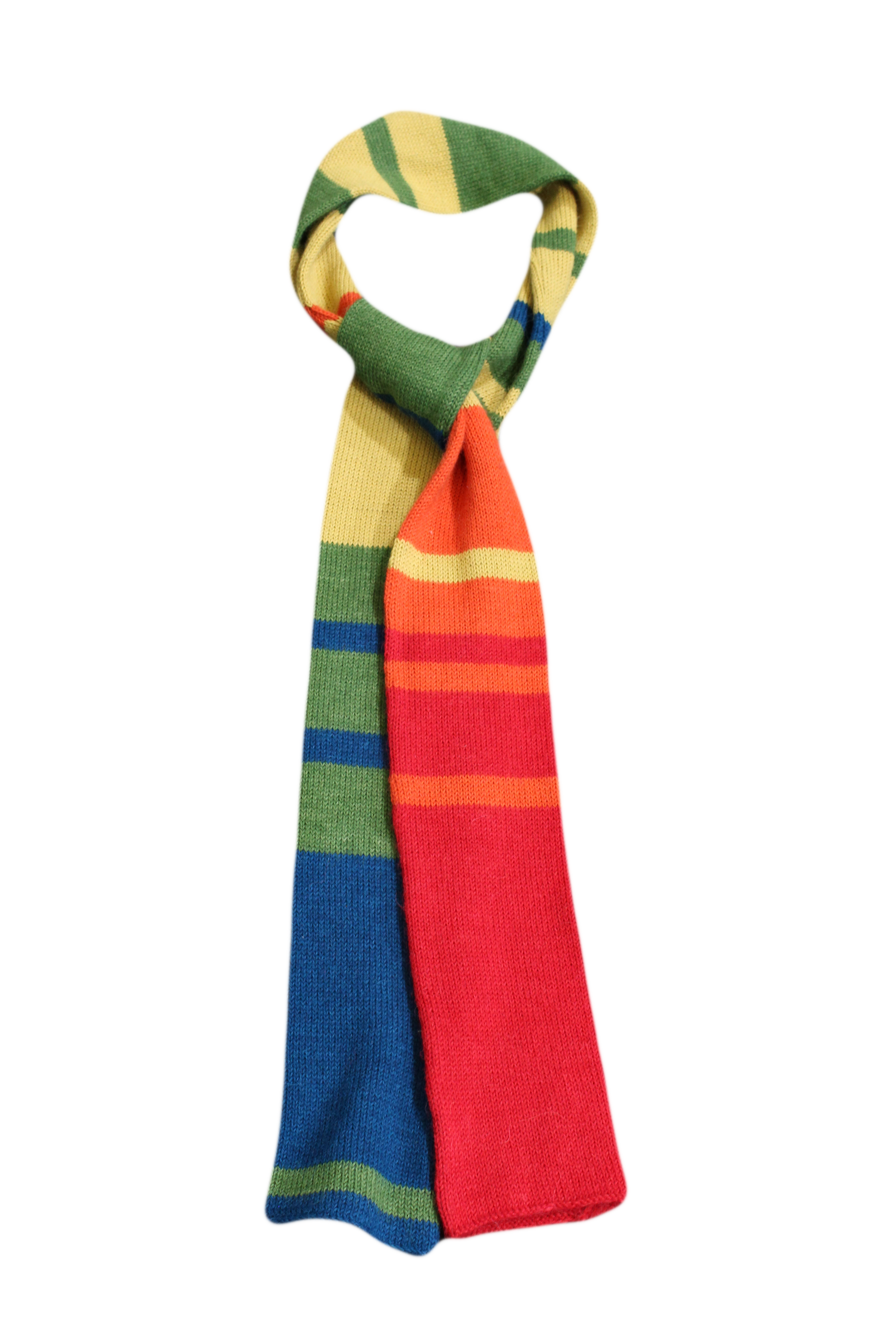100 Years of Average Annual Global Surface Temperatures, Charted in a Toasty Scarf, 2015
