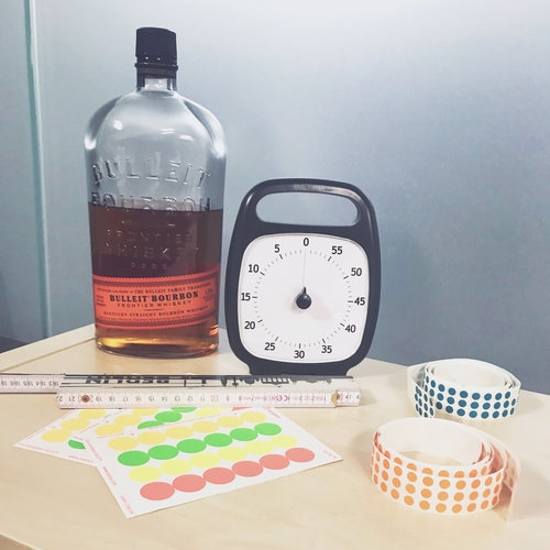 Bourbon + Time Timer = FUN Design Sprint!