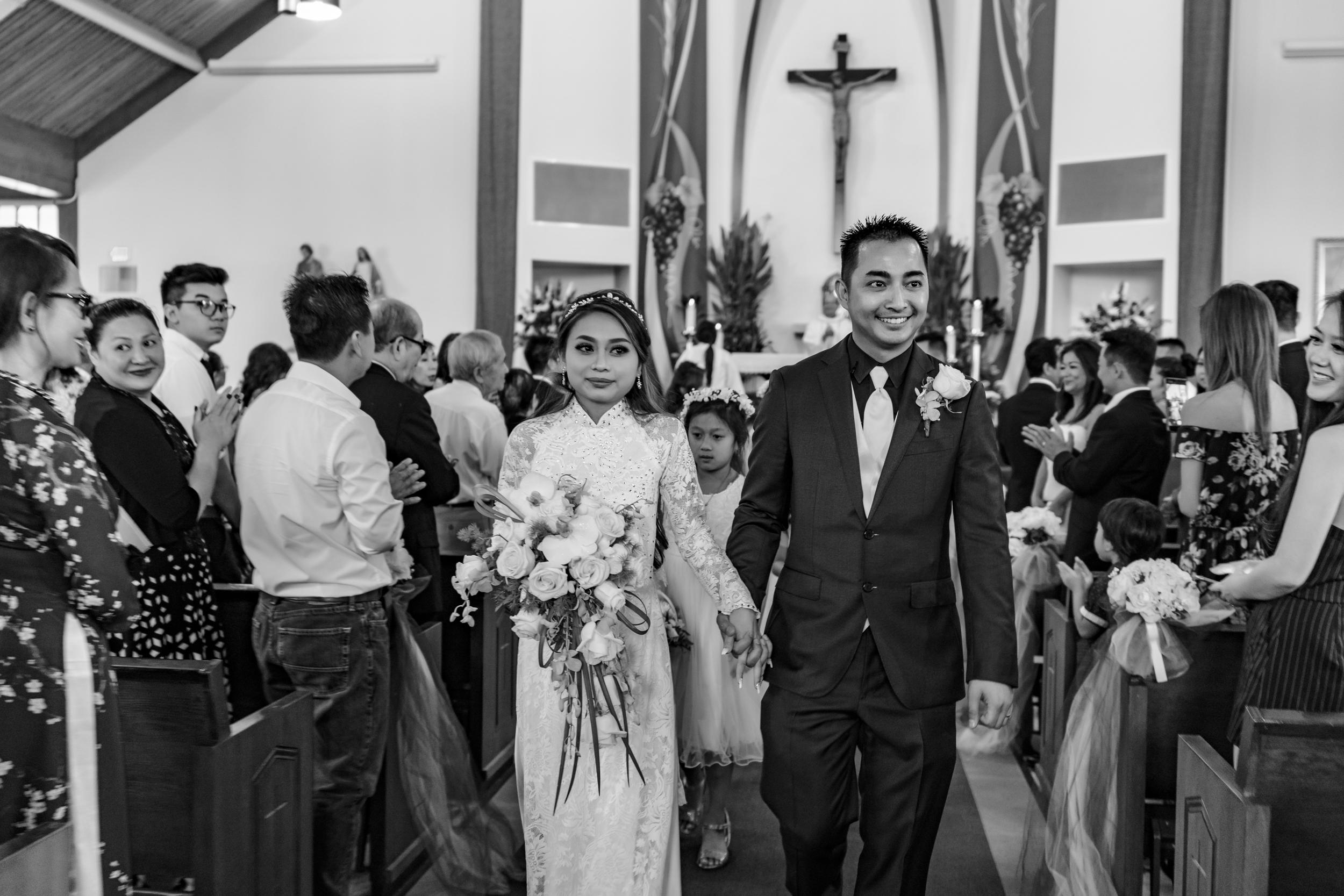 Huong + Antz Nguyen | Church Ceremony - Aug 11, 2018