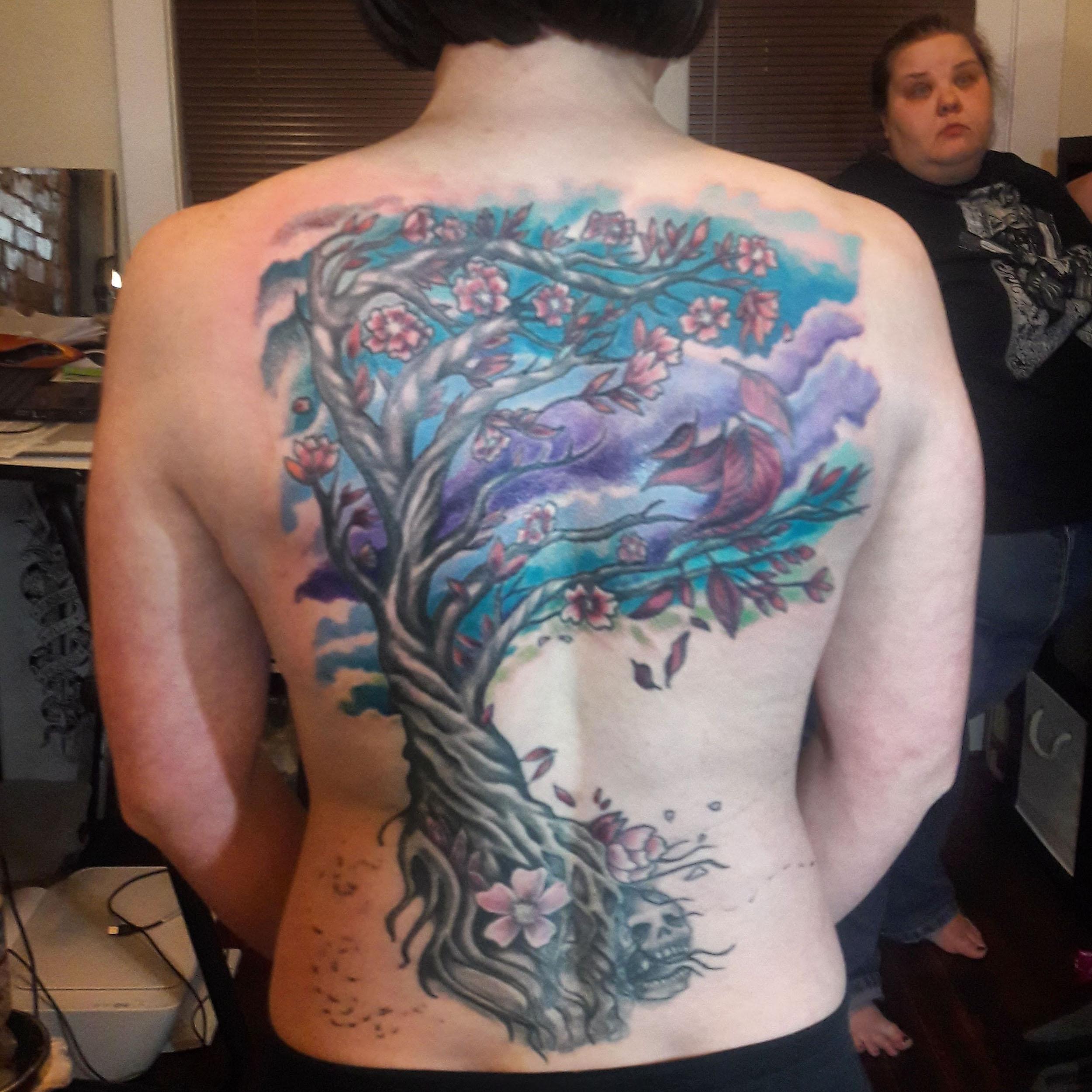 Sam's Tree 2016-2018 (wip)