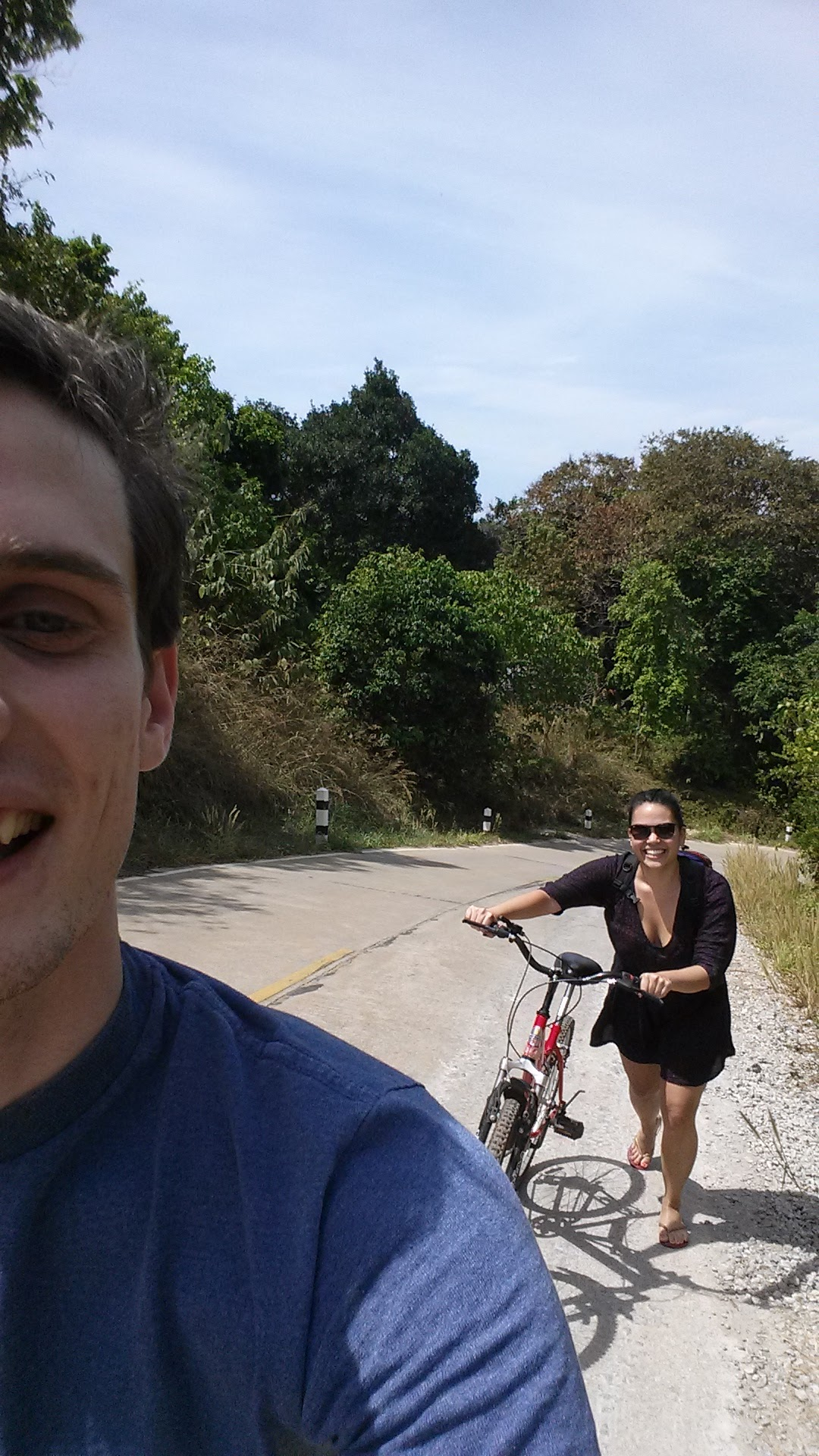for our third date, I flew to Singapore to meet Gill and we went to Koh Lanta in Thailand. Perfect!