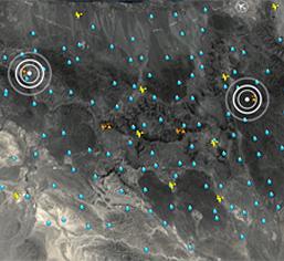 Weather and rain monitoring stations, Hajar ranges, Oman.