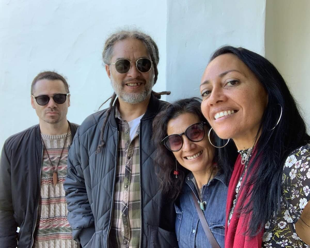 Brian Ruawai , Naomi Tuaopepe , Soundsplash co directors and Ninakaye Taane Tinorau Artist and Label Manager TikiDub