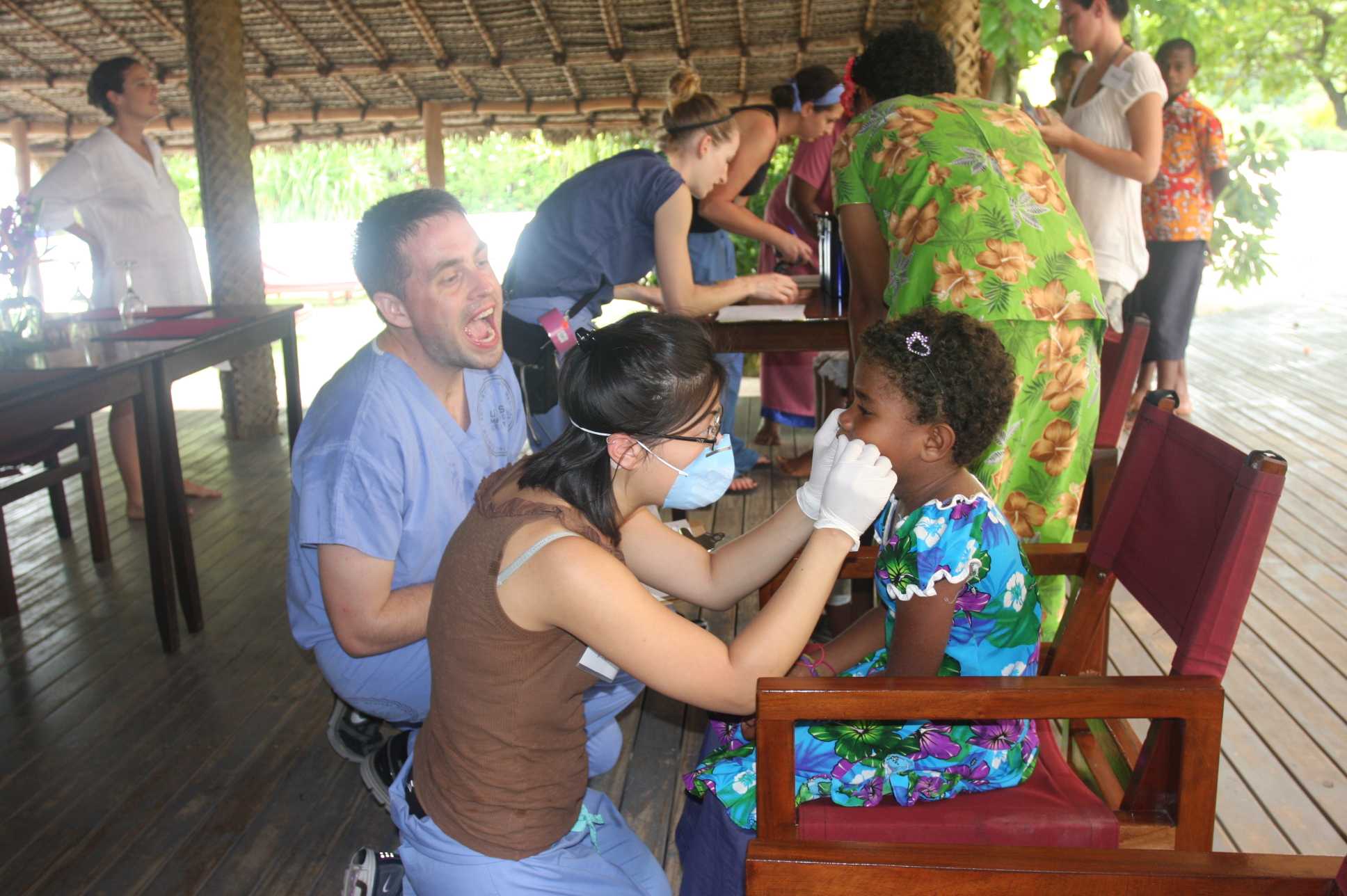 Outreach: We go anywhere to protect children's teeth