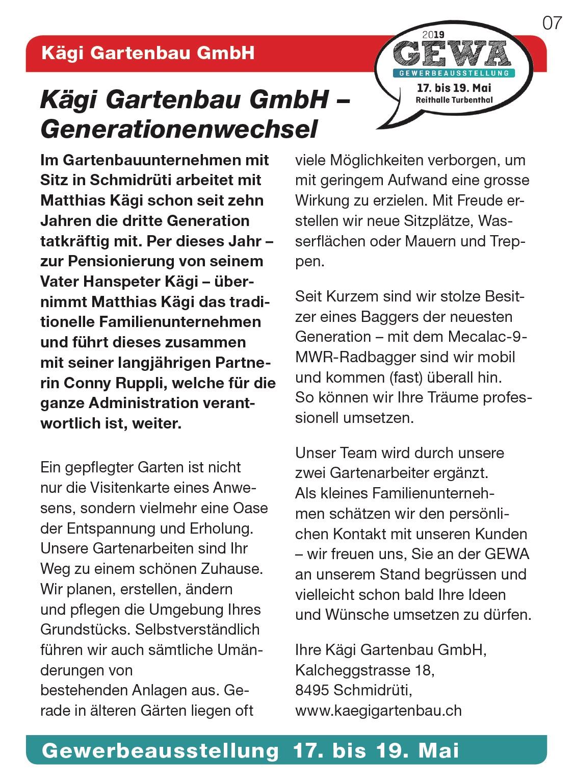 Kägi Gartenbau GmbH