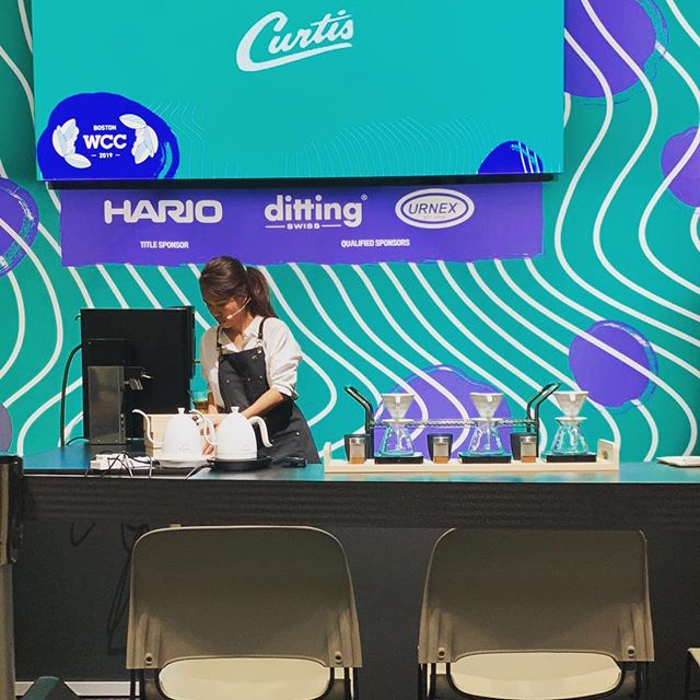 Congratulations to @elysiaholmes of @homeground.coffee and @jiunloong of @thepopuluscafe for their individual achievements at the World stage in Boston, USA and our gratitude to them for representing Singapore well with grace and passion on such a big stage! They are ranked 12th place in the World Brewers Cup 2019 and 38th place in the World Barista Championship 2019 respectively. Our heartfelt thanks to them and their team for the long training days and tough preparation times. Part 1 of competition season has ended and we look forward to seeing our champions on the World Of Coffee stage in Berlin, Germany! #singaporecoffee #worldcoffeeevents #SNBRC2019 #WBRC2019 #SNBC2019 #WBC2019 #GOBS #guildofbaristasSG #GuildofbaristasSingapore