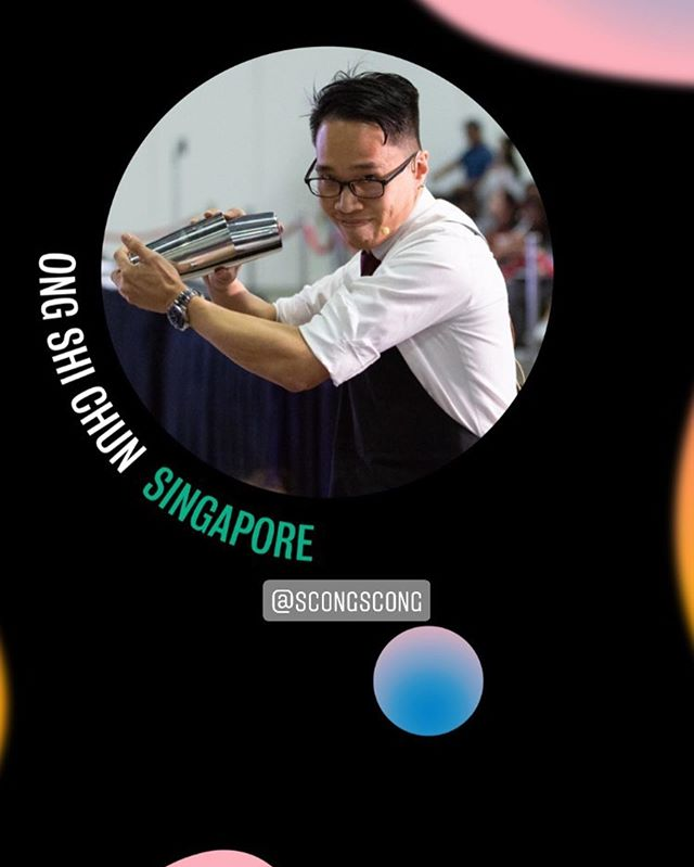 Our Singapore Coffee in Good Spirits Champion 2019 - Shi Chun will be representing us on the WCIGS 2019 stage in Berlin, Germany soon! We look forward to all the amazing drink creations and wish him all the best! #WOCberlin2019 #singaporecoffee #WCIGS2019