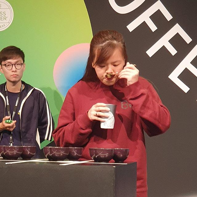 RESULTS: Thank you and congrats to Ong Siew Hui of Starbucks SG for coming in 8th in the World Cup Tasters Championship 2019! We are proud of you! #singaporecoffee #WCTC2019 #SCTC2019