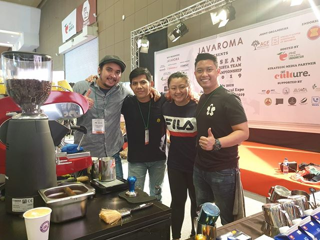 Good luck to the 3 teams representing Singapore for the first ever ASEAN Barista Team Championships! Have fun and all the best! #singaporecoffee