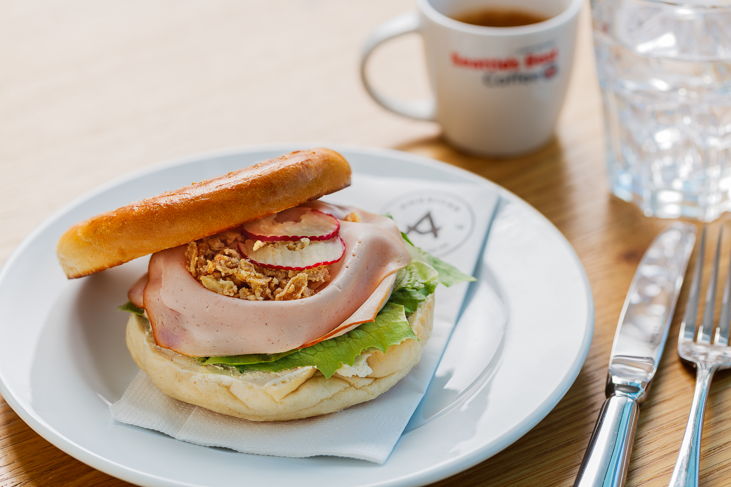 AMERICAN BAGEL & COFFEE -