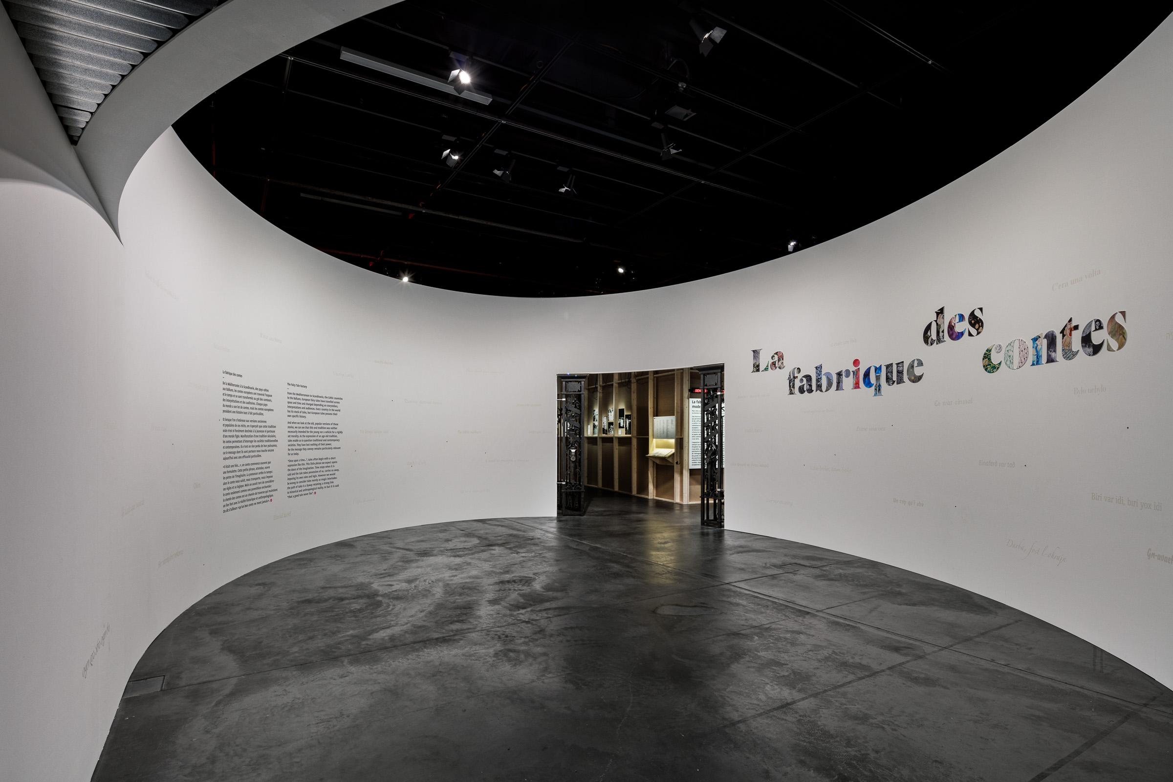 """""""LA FABRIQUE DE CONTES"""" AUSSTELLUNG    KLIENT:   EXPOMOBILIA AG, EFFRETIKON / MCH GROUP AG, ZÜRICH   LOCATION:   MUSEE D'ETHONGRAPHIE DE GENEVE, GENF"""