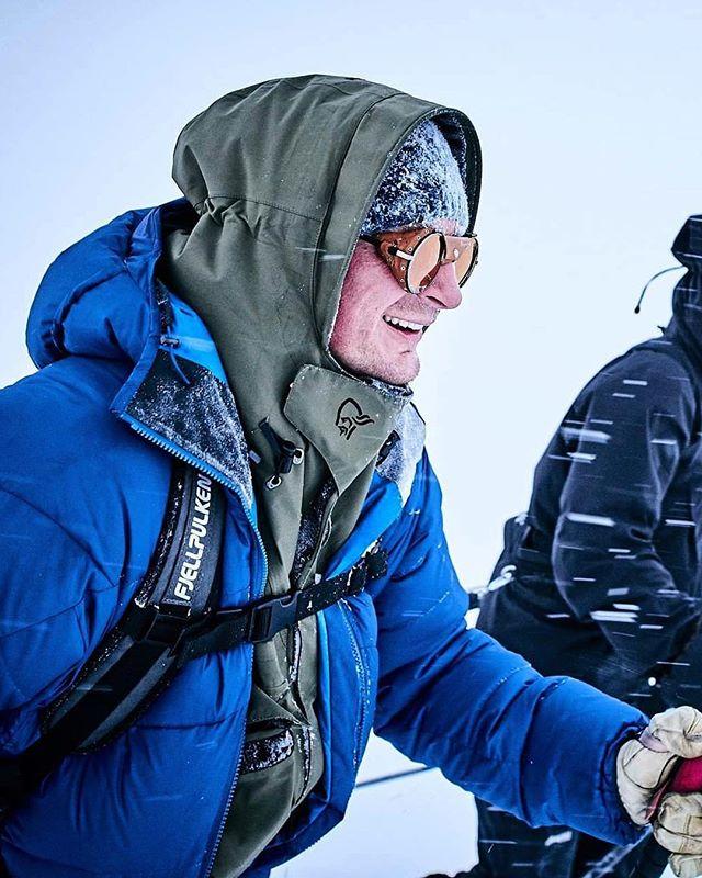 Jostein captured in action during Expedition Amundsen by @blastoff_creative ⛷.