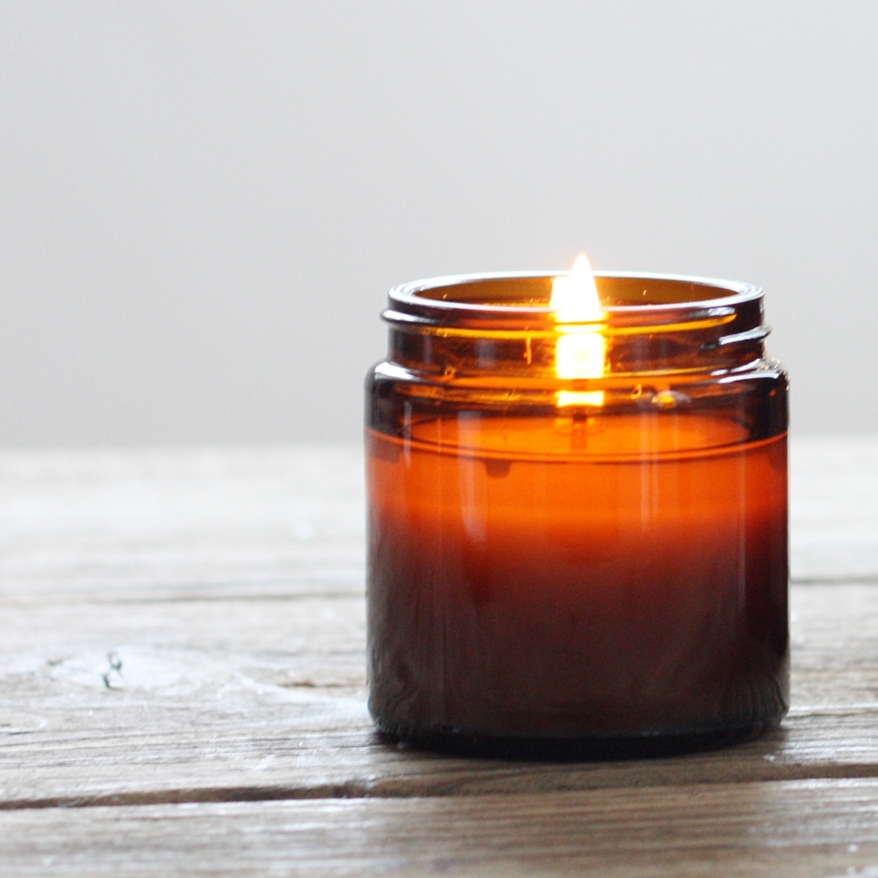 Bergamot Clarity Meditation Candle collaboration with  Pure Thoughts .