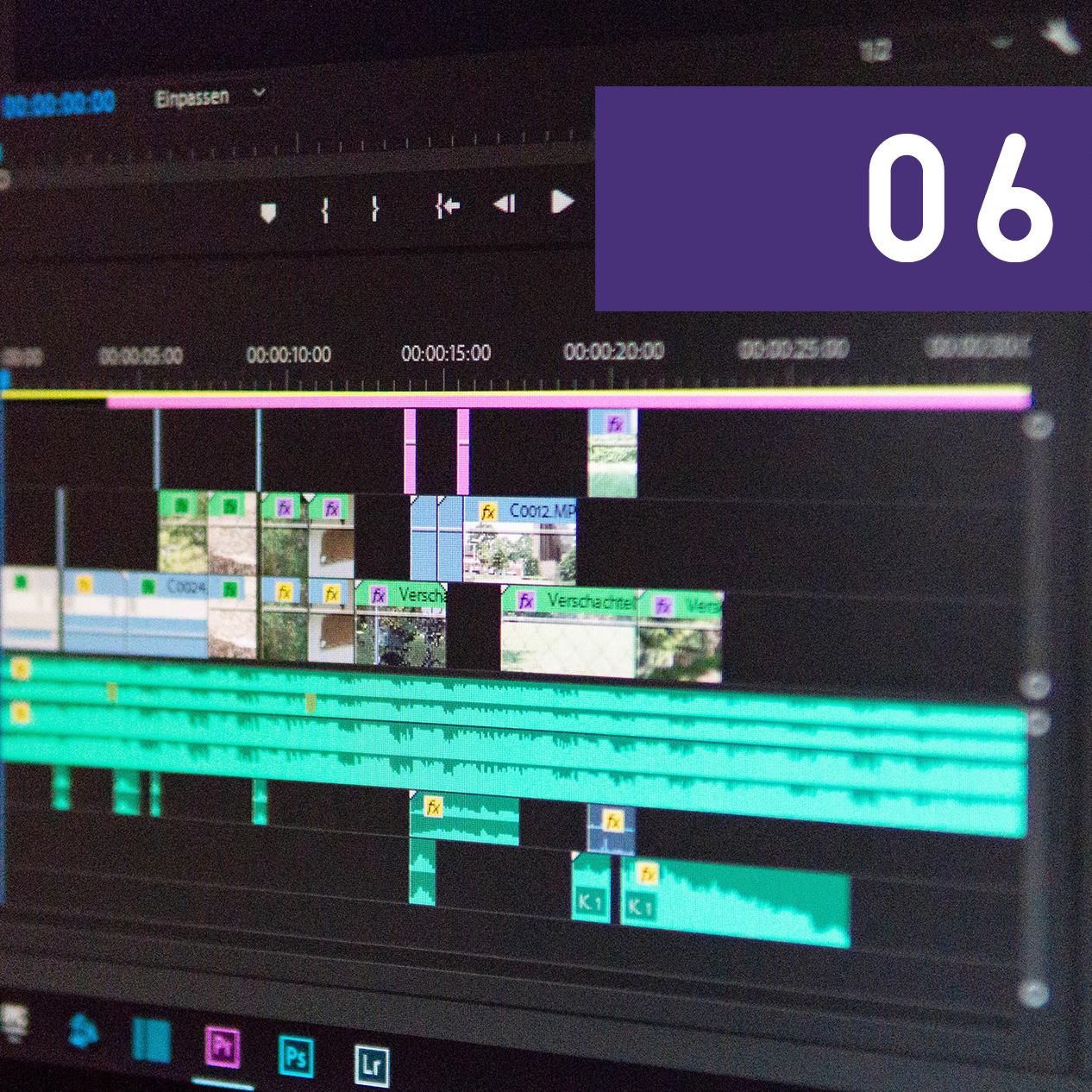 Post-Production - Editing brings all the pieces of the filmmaking process together like a jigsaw puzzle. Students will learn how to cut a sequence, create transitions between multiple sequences and add titles and credits to cottage in order to piece the production together into a finished short film.