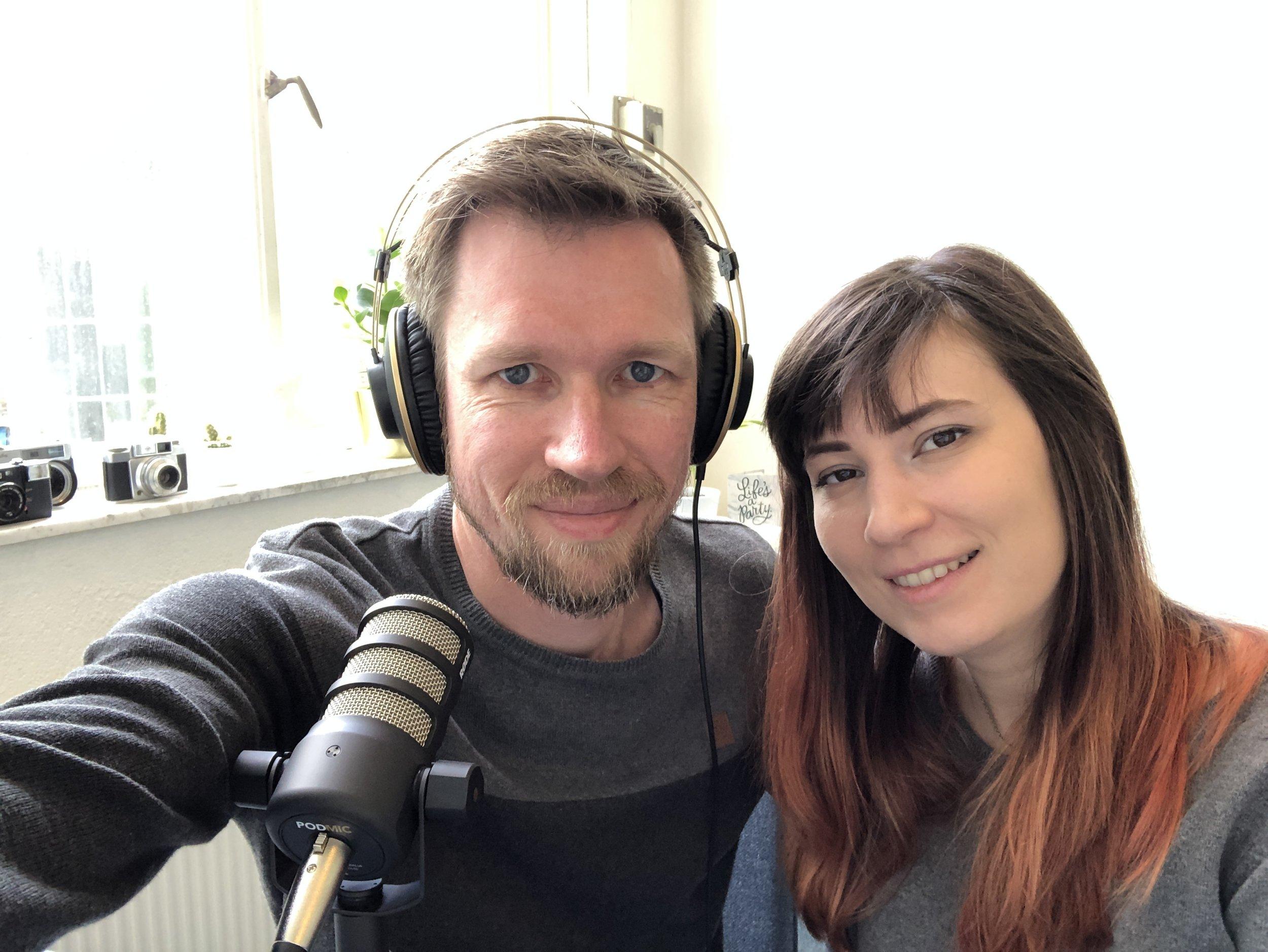 Voor het eerst samen met mijn vriendin een podcast opnemen!