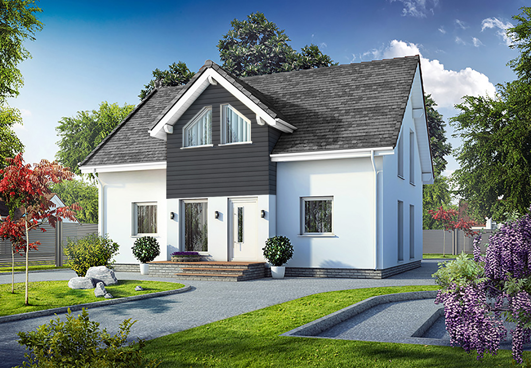 DESIGN - Although we offer standard house designs on the development, we also give you the opportunity to choose a house from our collection of over 50 unique styles and customise it to create the home of your dreams to the budget you set.