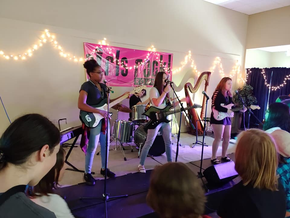 Image gratitude  Girls Rock Roanoke