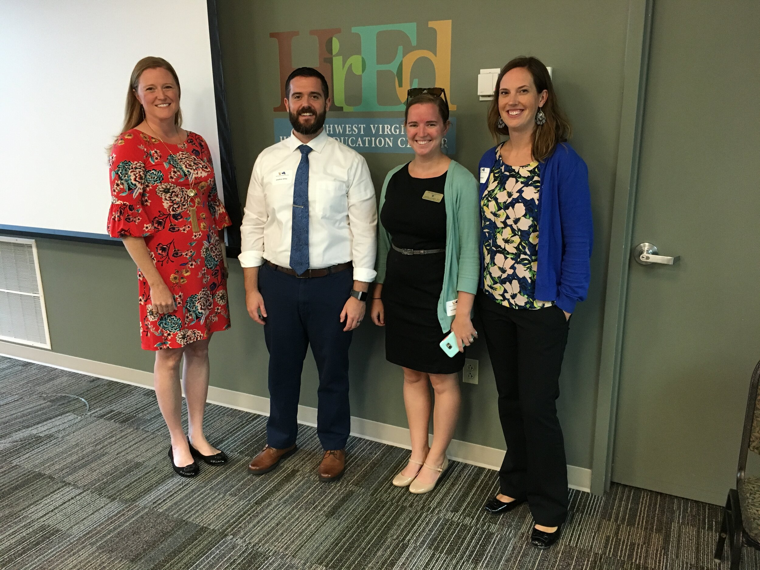 Fall Forum workshop presenters (from left): Dr. Carrie Sanders, Jon Wiley, Jennifer Condon, Dr. Laura Farmer (not pictured: Dr. Theresa Burris)