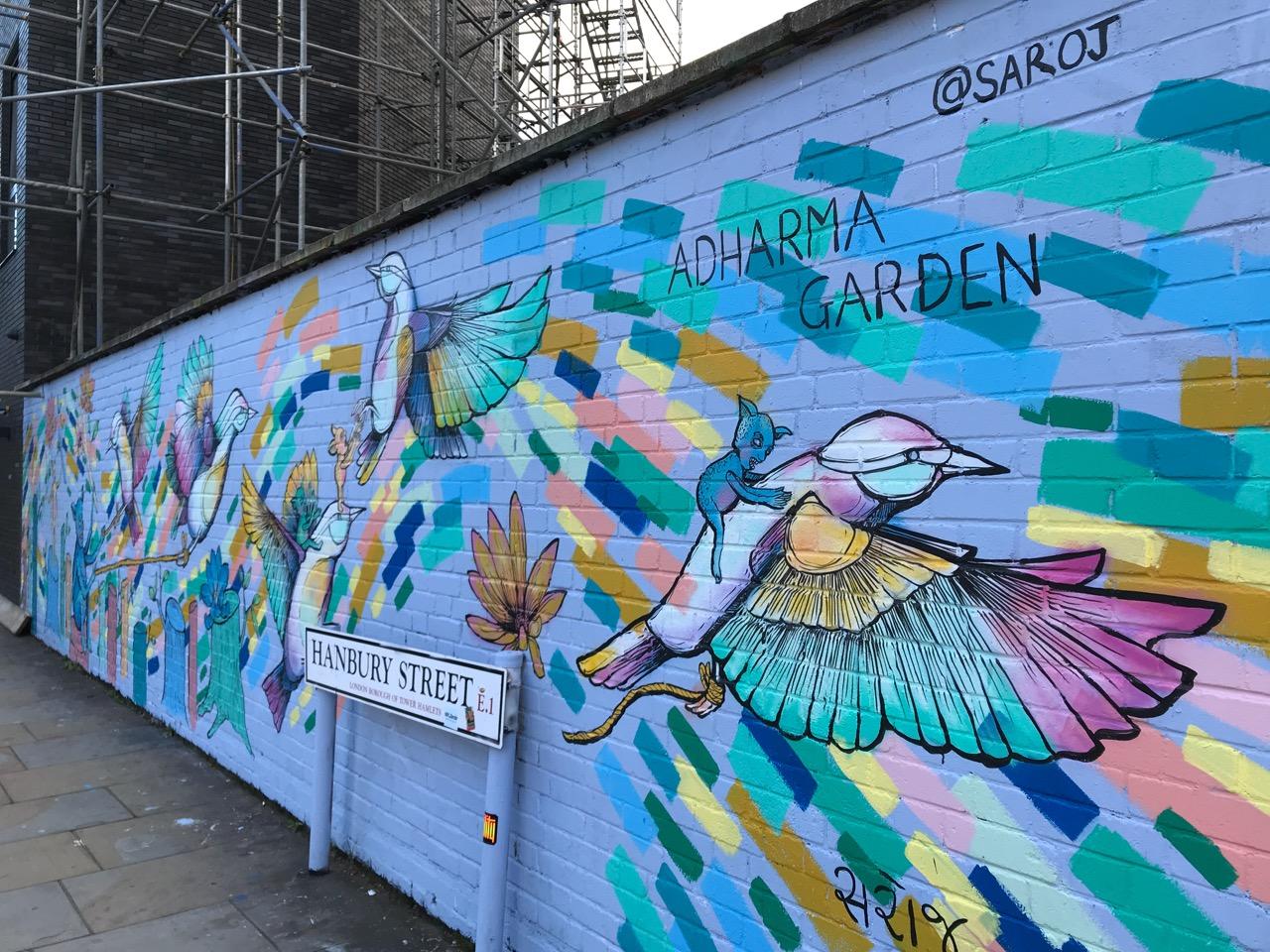 Adharma Garden Saroj Street Art brick lane London.jpg