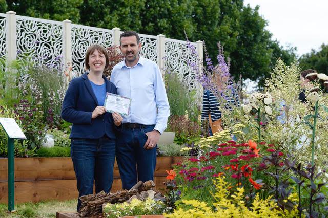 Alexa and Adam Frost, Garden Designer and Presenter of the  BBC Gardeners' World Live