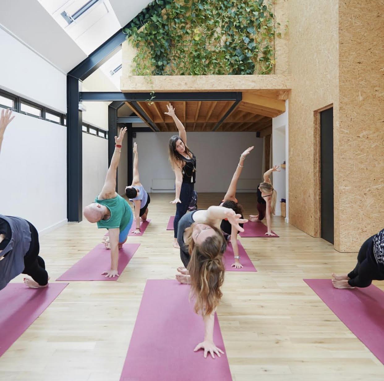 East of Eden's yoga studio
