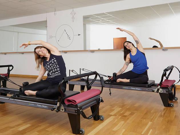 East of Eden's reformer pilates and barre studio