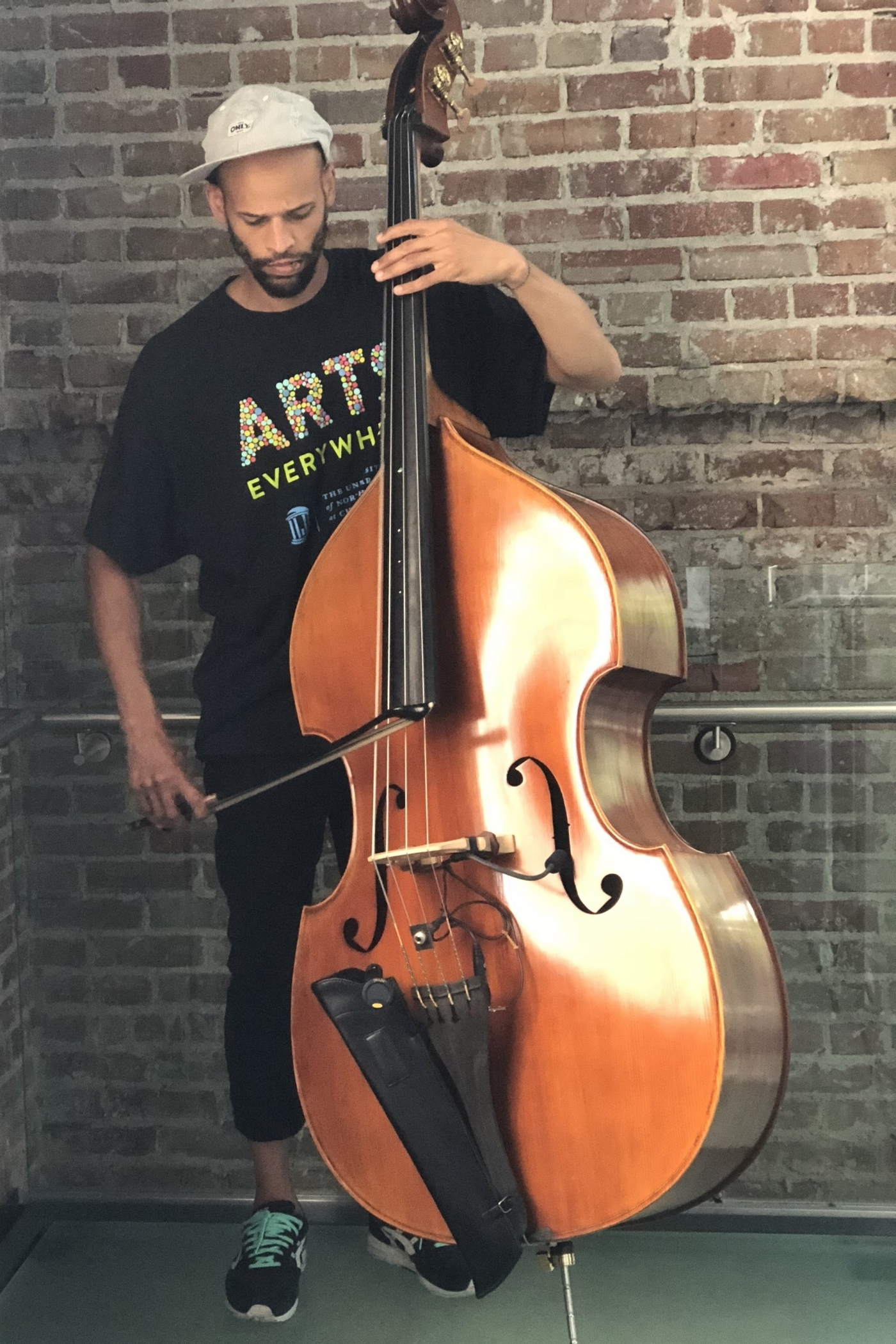 - I'm a composer, performer, and multi-instrumentalist focusing on upright and electric bass, as well as a member of the award winning tap dance company, Dorrance Dance, the indie band Darwin Deez, and co-creator of Music From The Sole, an afro-Brazilian tap dance and live band show. I learned rhythm and blues at an early age from a family of musicians where everyone could play at least a little piano and everyone was expected to sing. A Tucson, AZ native, I studied at Bard College and have been working as a professional musician in New York City for nearly two decades.