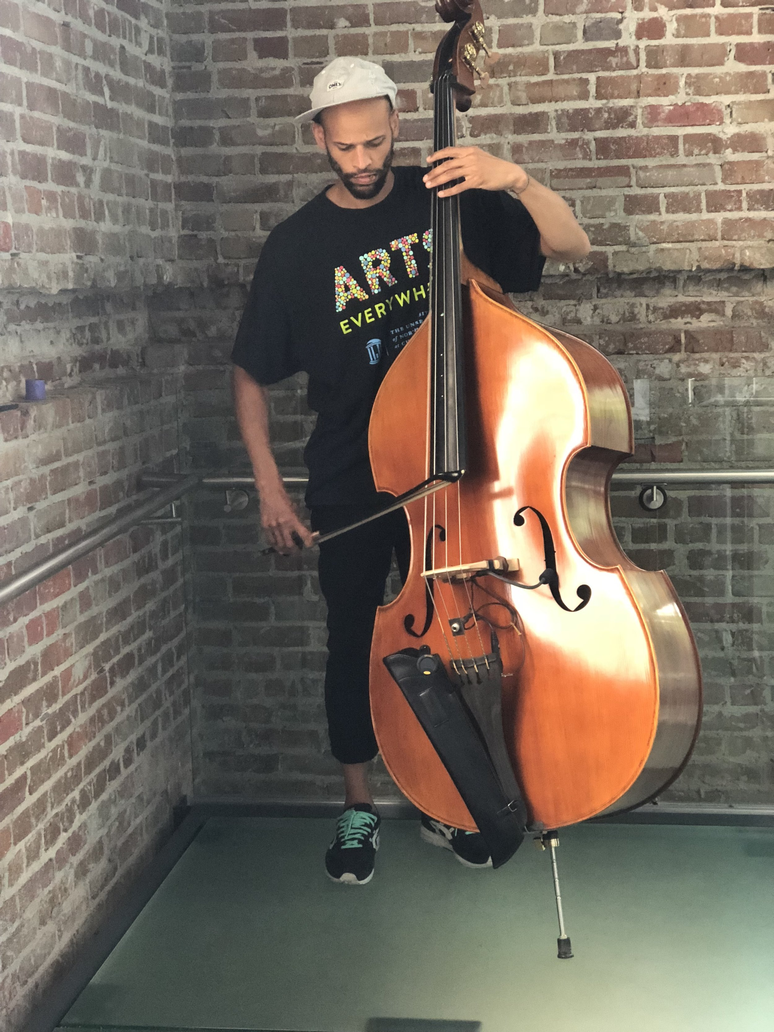 I'm a composer, performer, and multi-instrumentalist focusing on upright and electric bass, as well as a member of the award winning tap dance company,  Dorrance Dance , the indie band  Darwin Deez , and co-creator of  Music From The Sole , an afro-Brazilian tap dance and live band show. I learned rhythm and blues at an early age from a family of musicians where everyone could play at least a little piano and everyone was expected to sing. A Tucson, AZ native, I studied at Bard College and have been working as a professional musician in New York City for nearly two decades.
