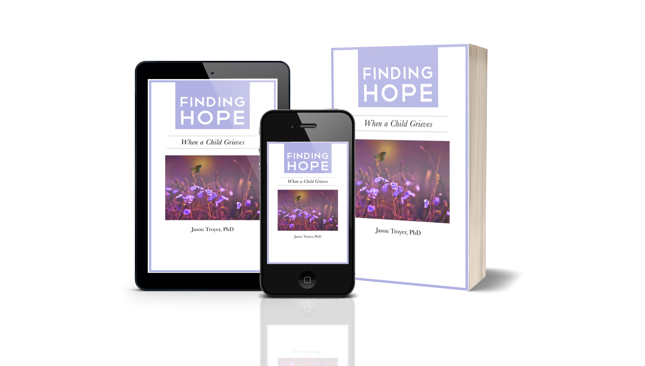 Helping Grieving Children & Teens - Click Here to download the e-booklet