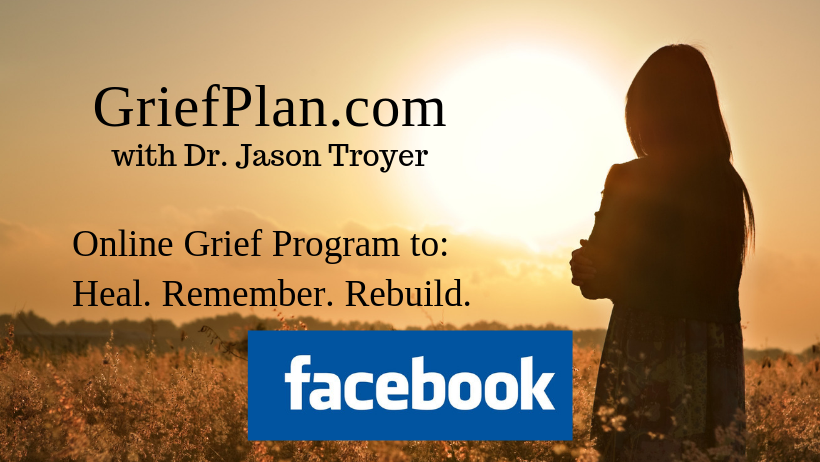 Visit the GriefPlan Facebook Page - Click Here