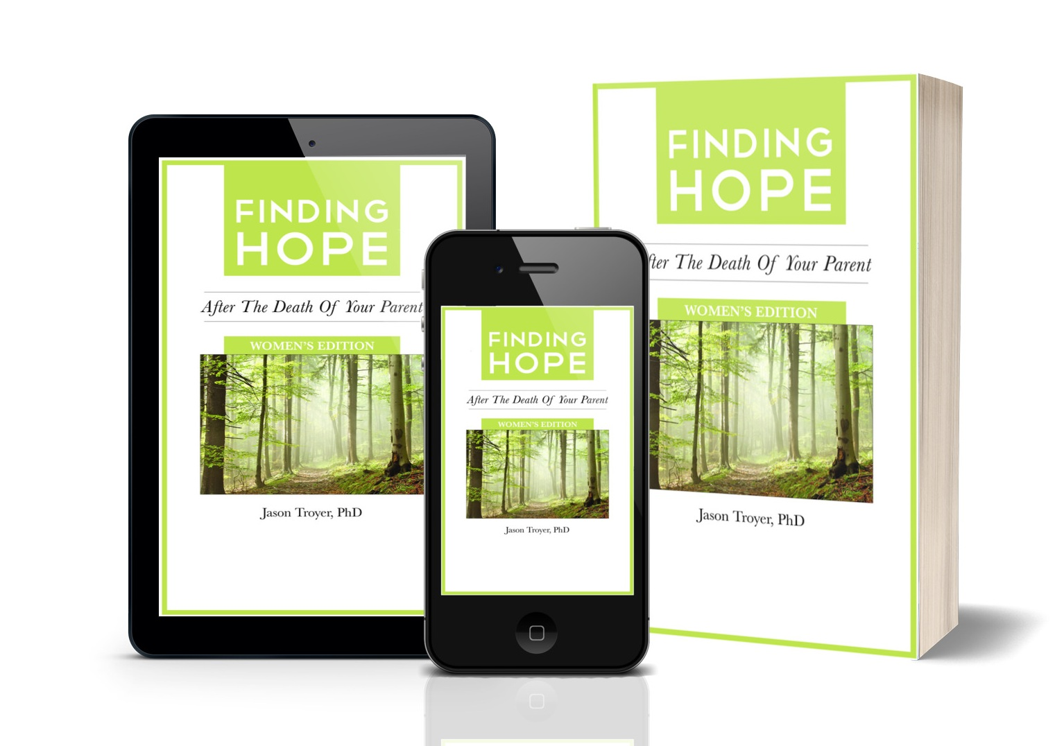 Want my free Loss of a Parent (Women's Version) e-booklet? - Complete form below