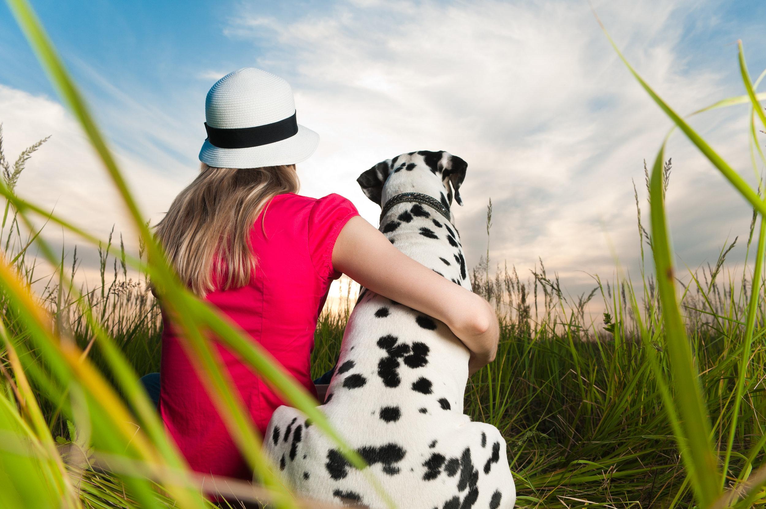 The loss of an animal companion is a real loss. -