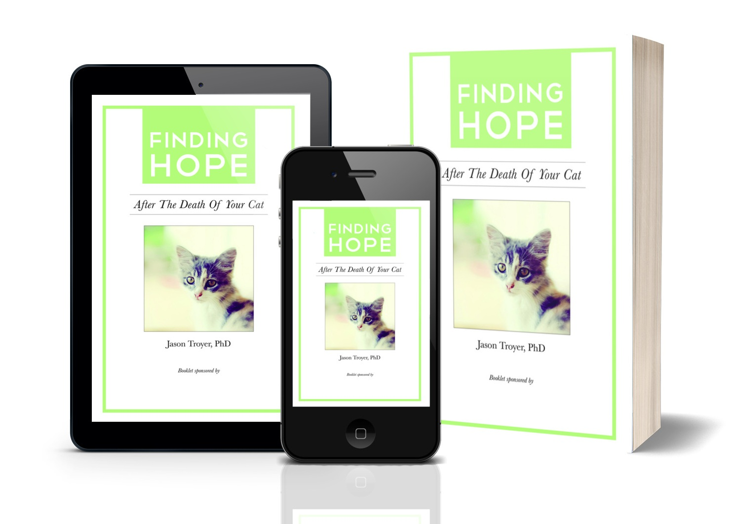 Want my free Loss of a Cat e-booklet? - Complete the form below