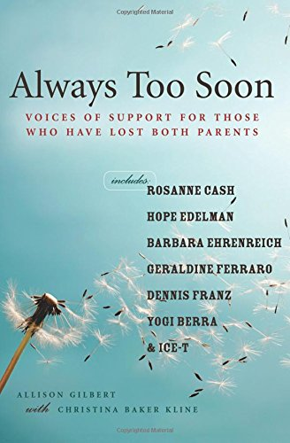 """Always Too Soon"" by Allison Gilbert - Read more on Amazon.com"