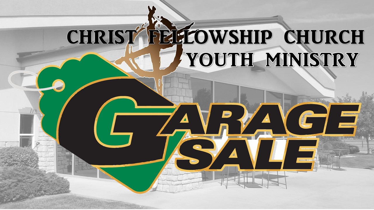 Youth Garage Sale - This summer we will be starting the Youth Garage Sale again! Grab those things laying around your house, not being used anymore and bring them on down to donate, and grab something while you are here!  All proceeds go towards Youth Missions.