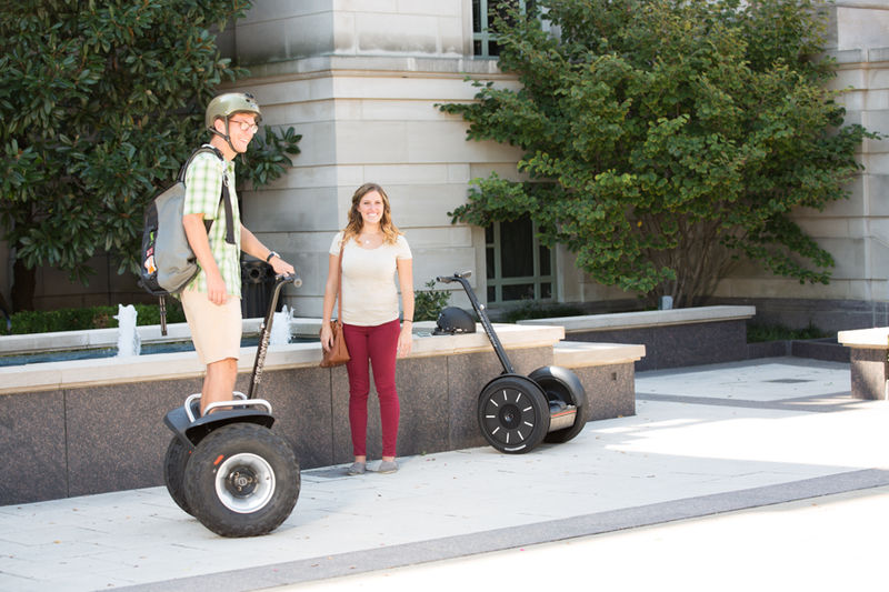 Personal - Looking for something to get you from one place to another? The Segway® Personal Transporter (PT) is a self-balancing, electric transportation device that features redundant safety systems and is ideal for trips that are too far to walk and too short to drive.
