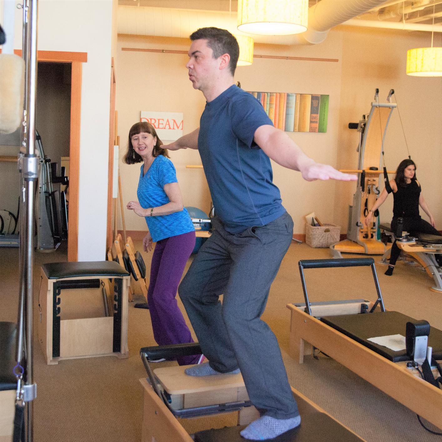 Private Pilates Instruction Studio Evolve