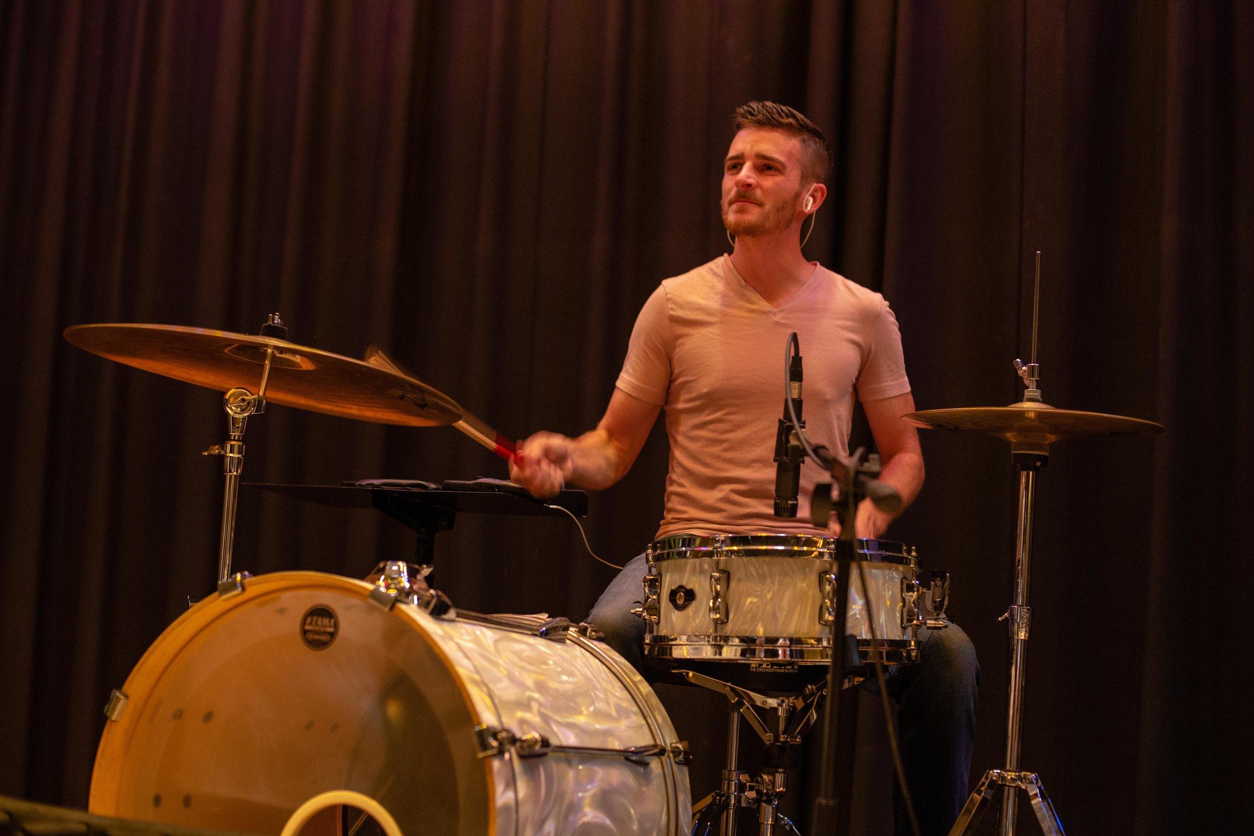 The Band: Drummer - Volunteer