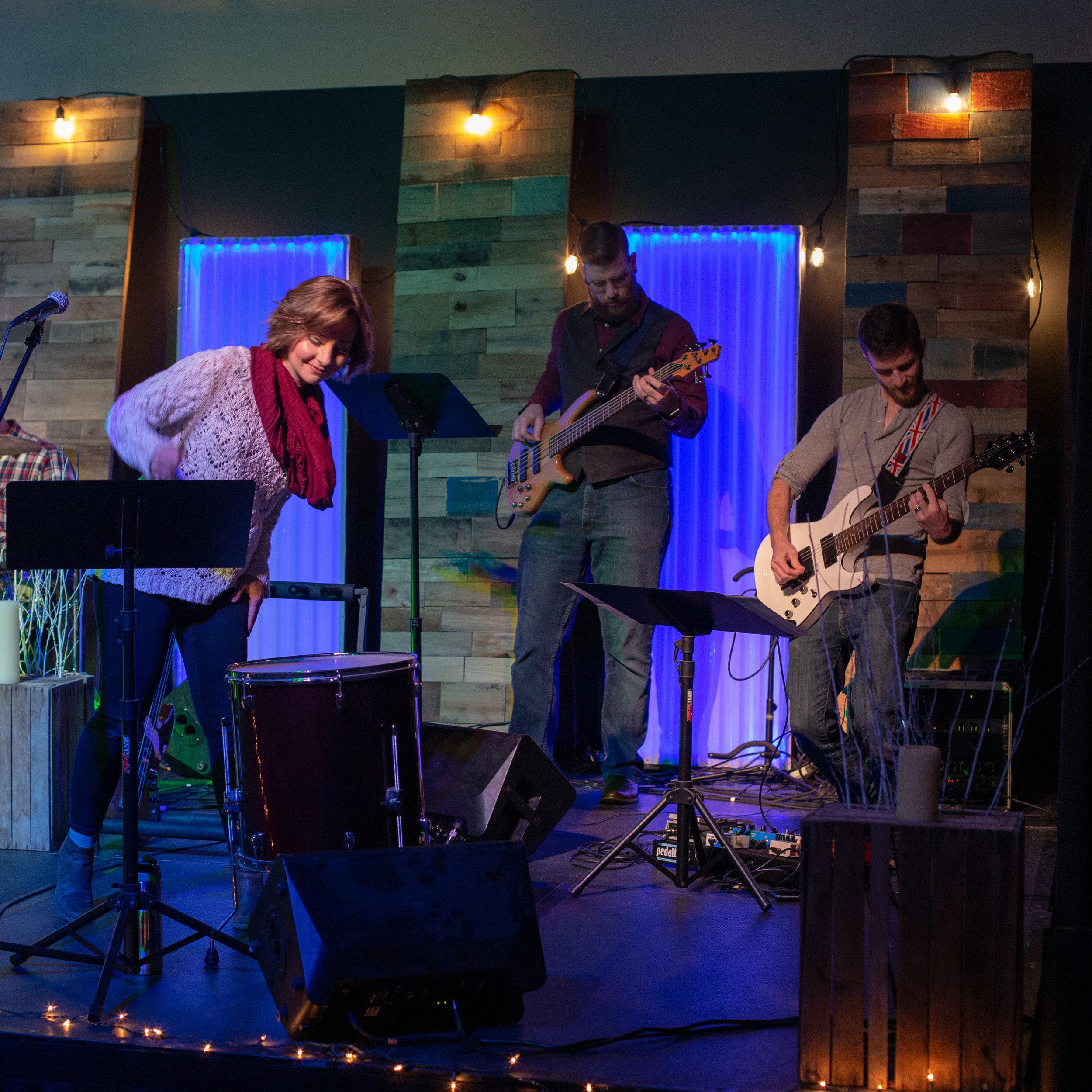 The Band: Bassist - Volunteer