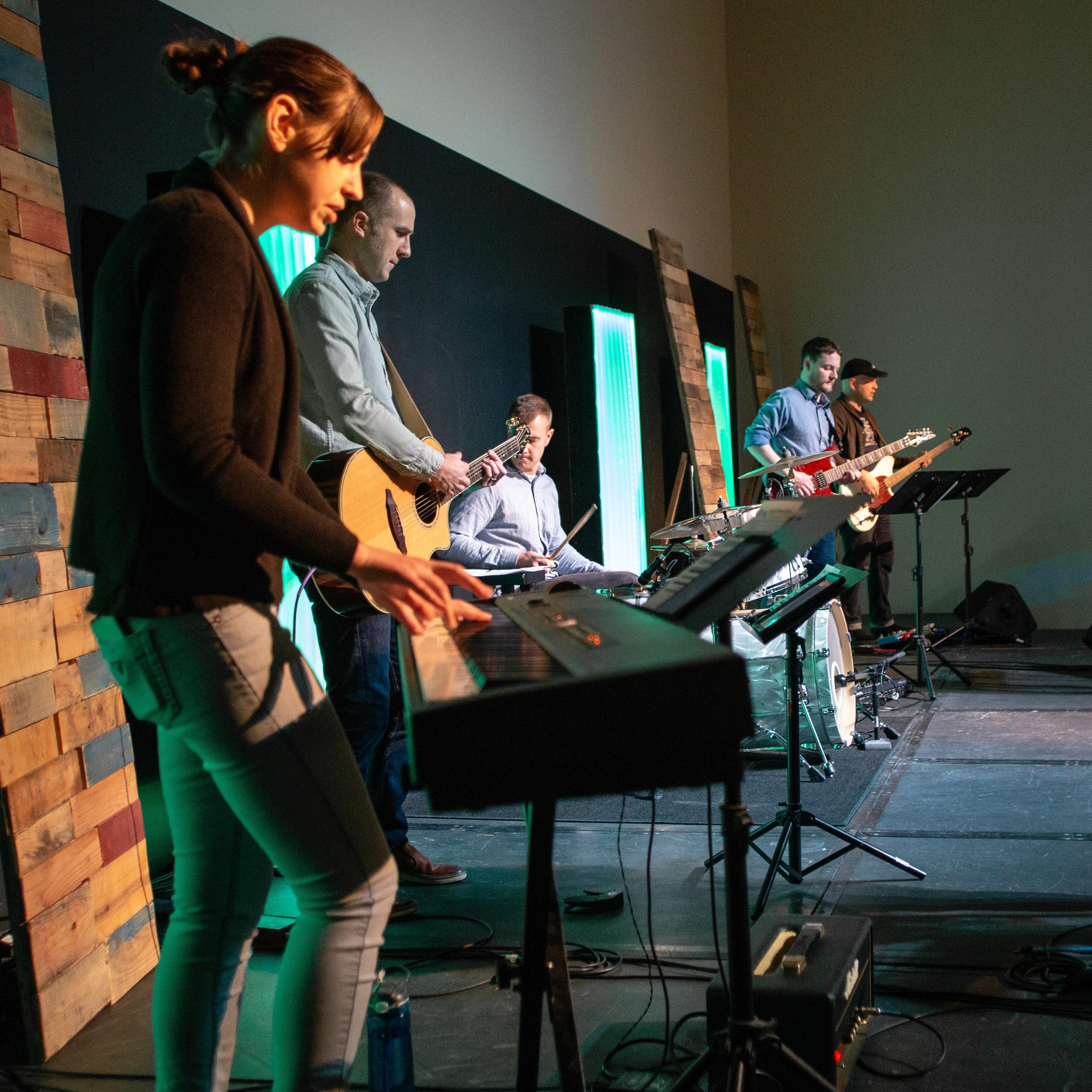 The Band: Pianist & Keyboardist - Volunteer