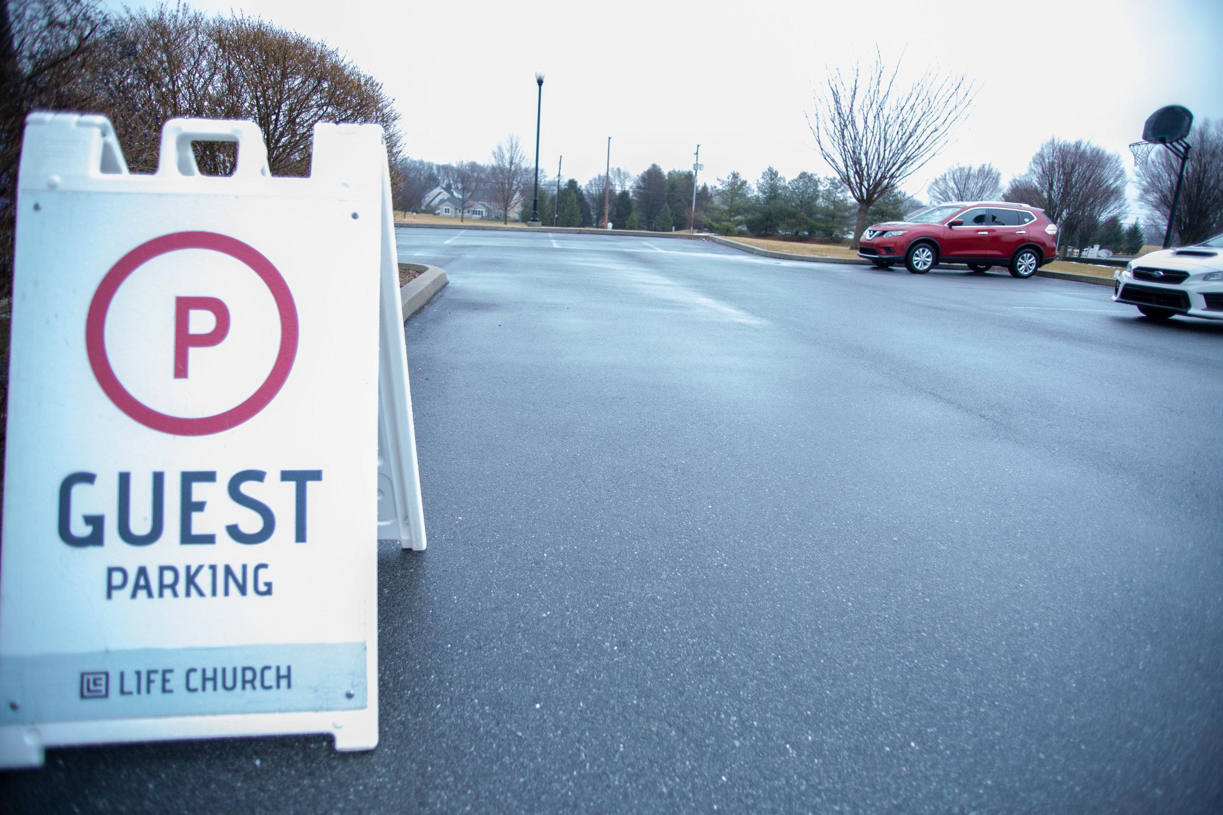 Guest Services: Sign Set Up/Greeter - Volunteer