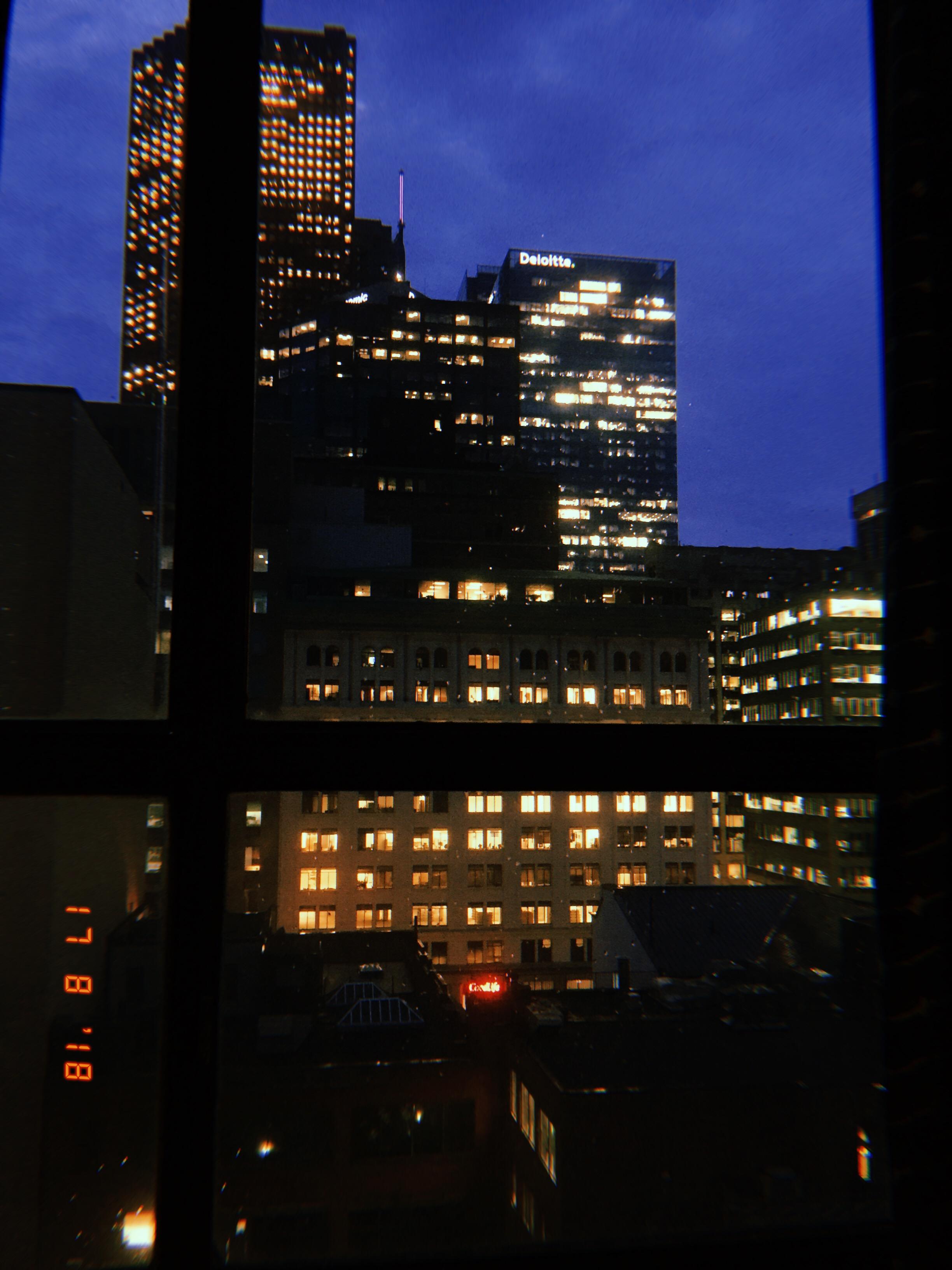 Toronto at night (18/08/17)