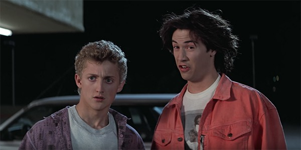 Strange things are afoot at the Circle K. ©  Bill & Ted's Excellent Adventure  (1989). MGM.