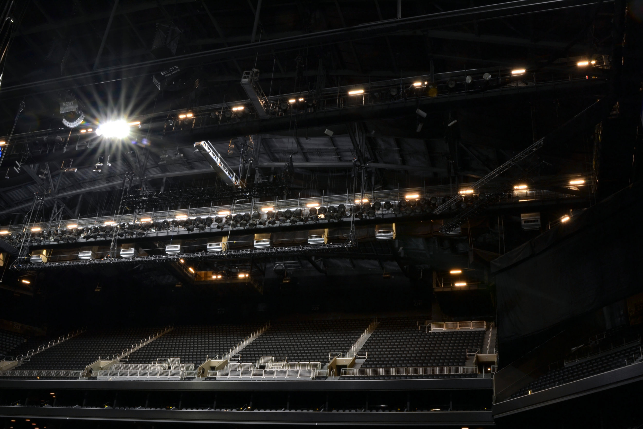 Barclays center metal halide wavelength led retrofit
