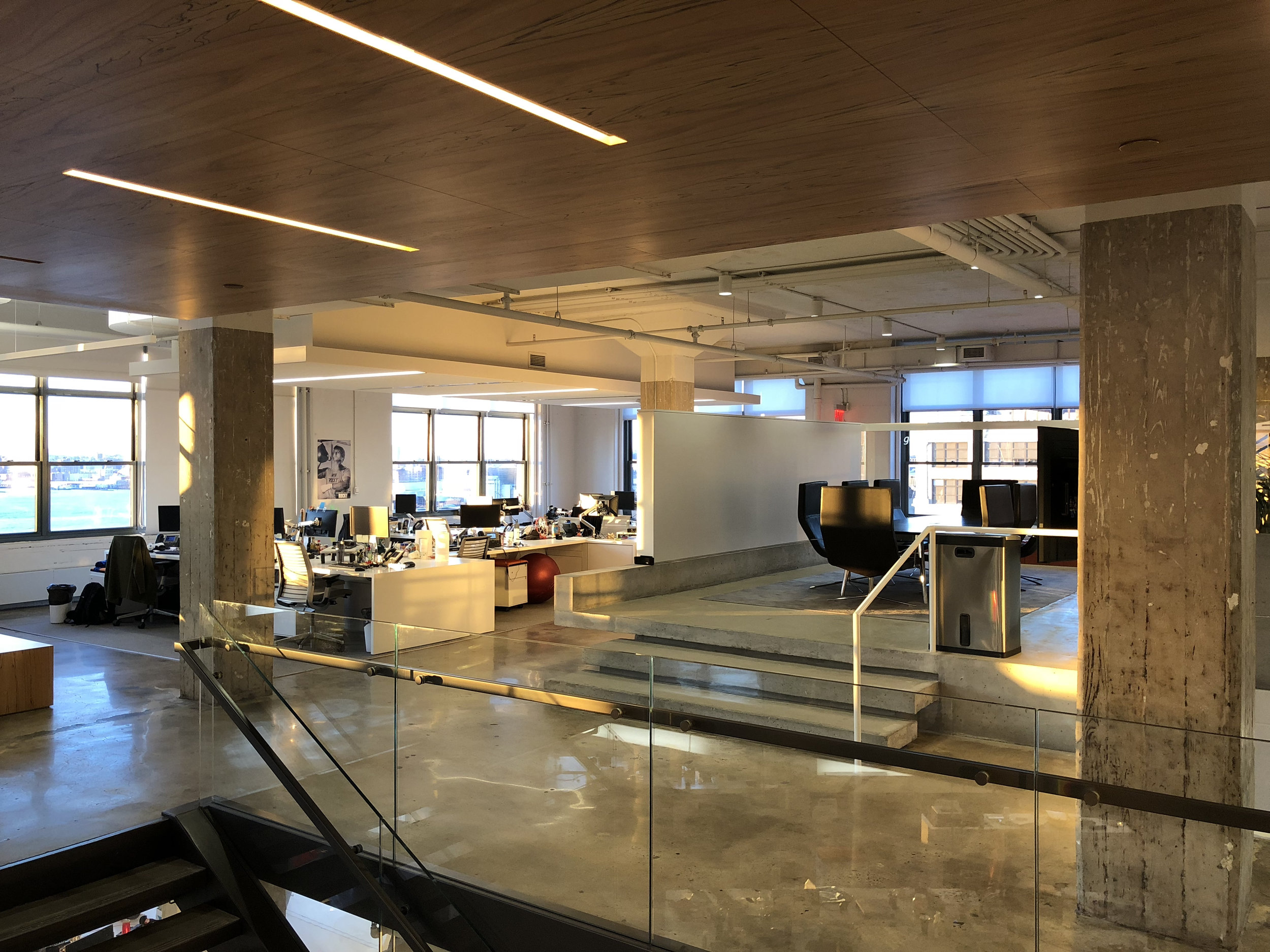 horizon media wavelength led retrofit office
