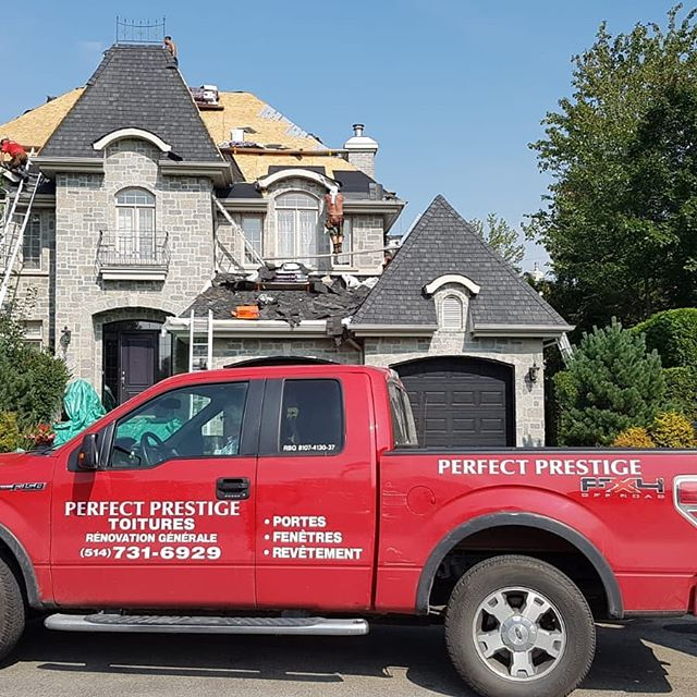 Perfect Prestige Renovations. General contractor specializing in roofing. 514-731-6929.  #renovation #roofing #contractor #homeimprovement #montreal #construction