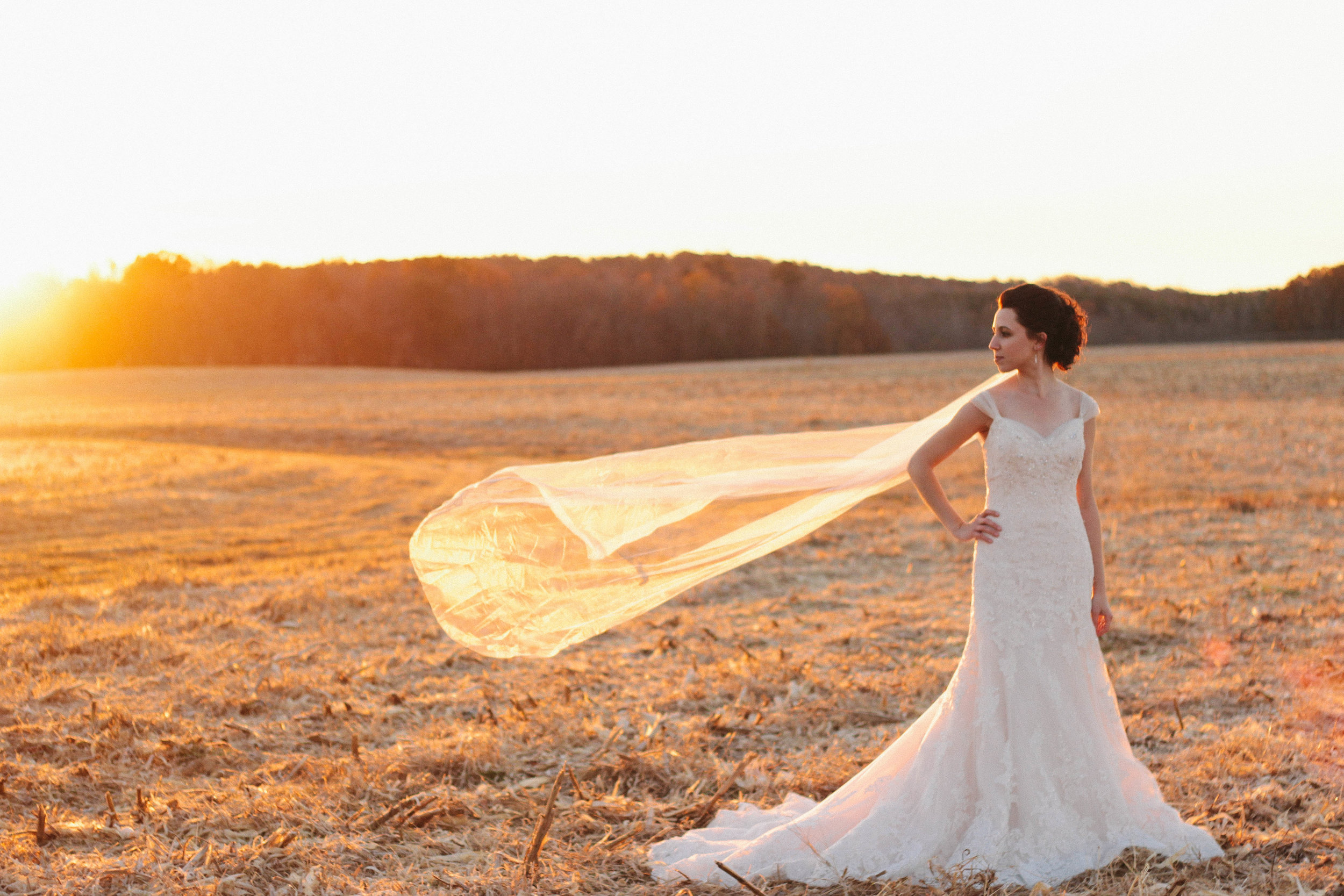 We interrupt this Very Serious Bridal Shoot to bring you a slice of reality. When you don't have a breeze that is juuuuust right, you have your little-sister-turned-assistant to make the veil do the floaty thing and then run out of the frame as fast as she can.