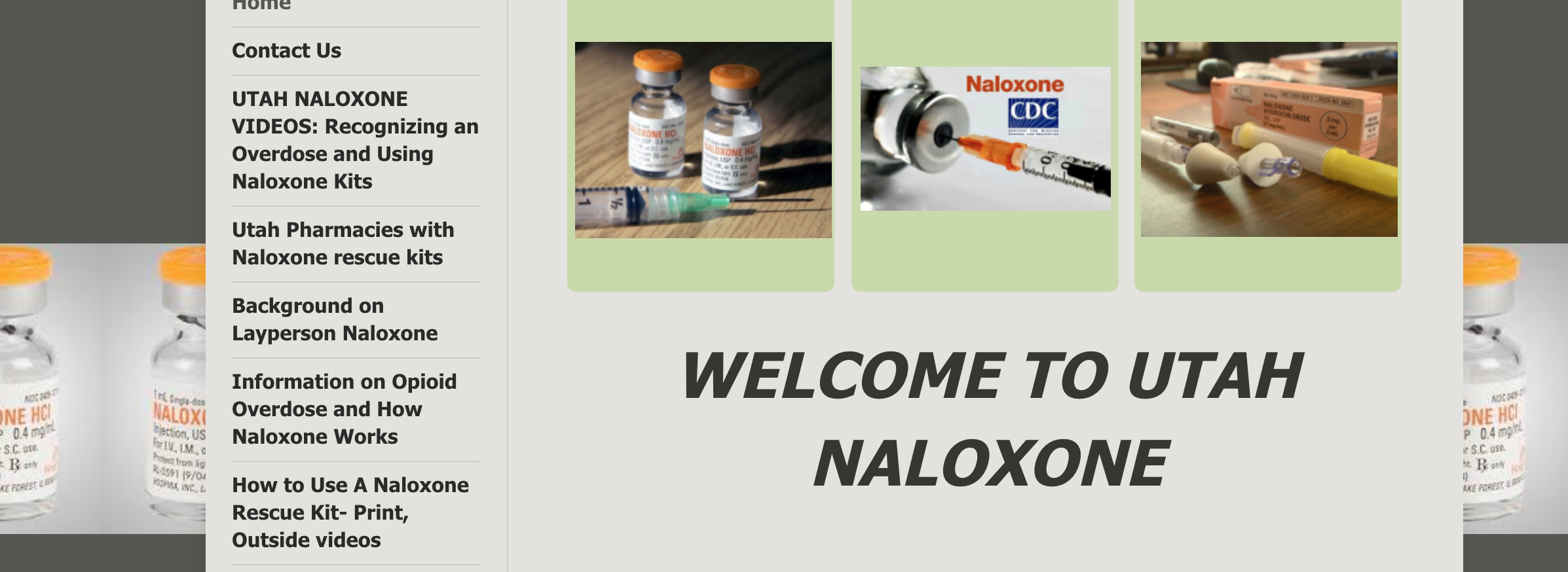 Click the image above or  http://www.utahnaloxone.org/
