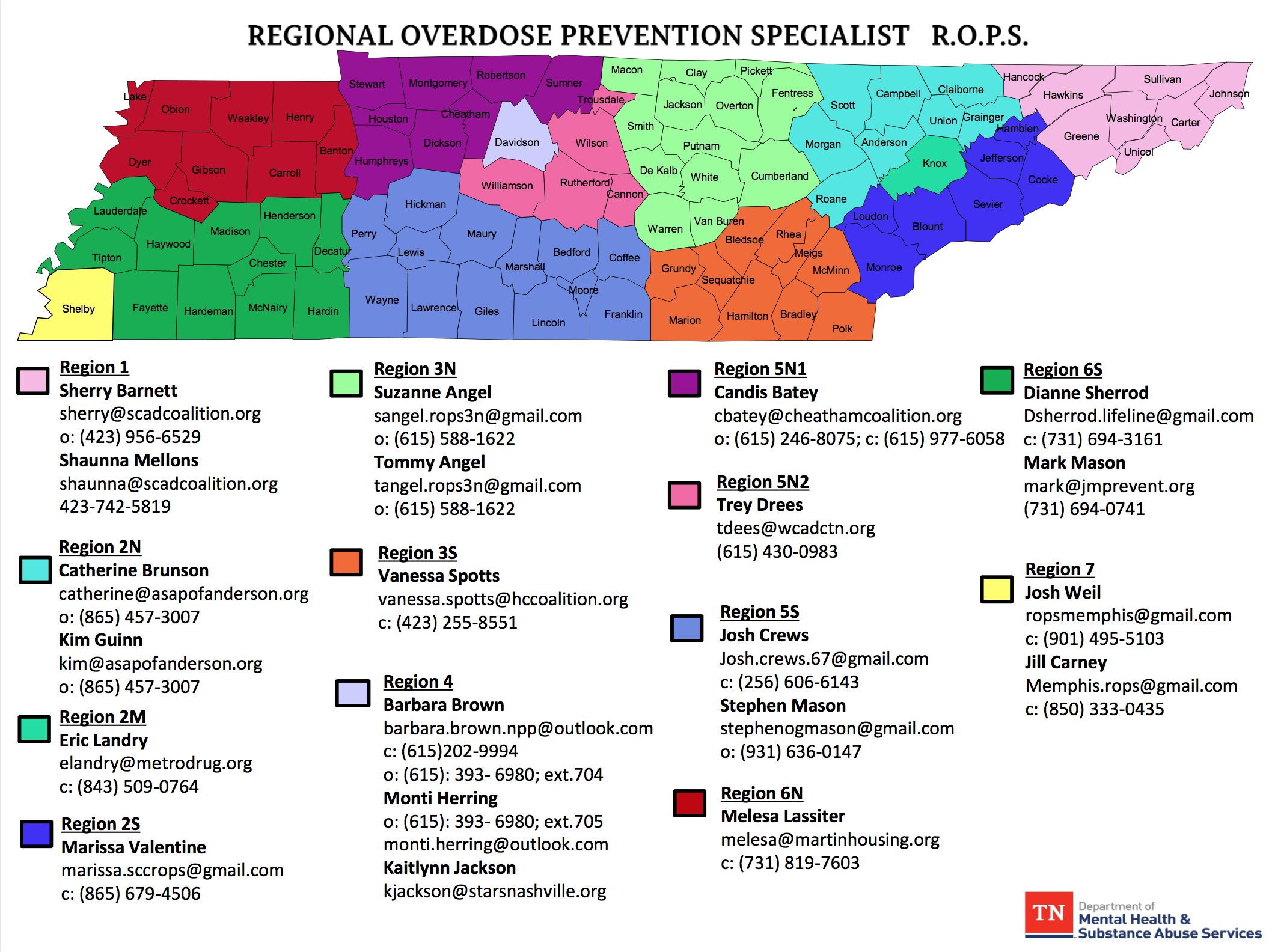 Contact the regional representative in your county. Please reach out to us if you have any issues connecting.