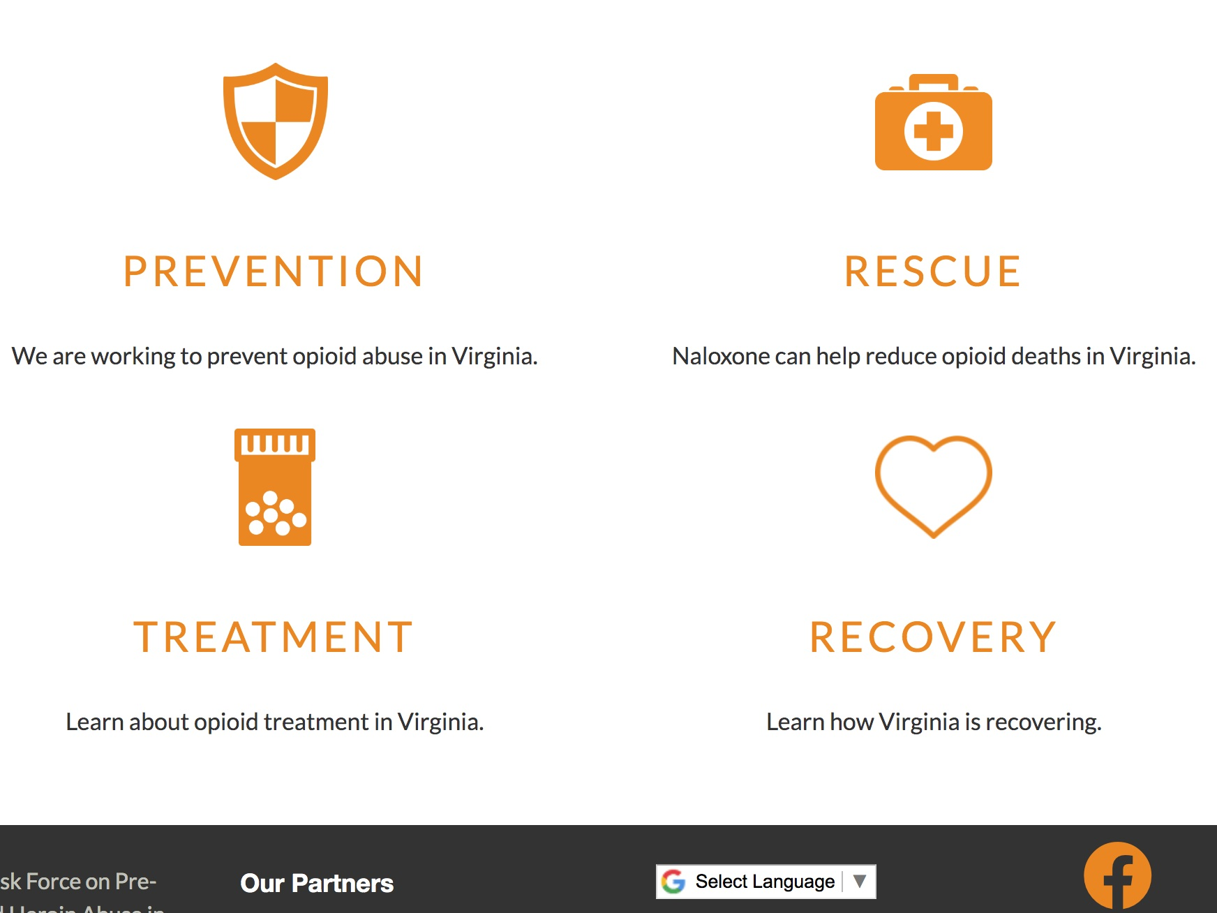 curb the crisis - CurbTheCrisis.org is a website intended as a comprehensive resource for all Virginians in the fight against opioid misuse and overdose. The website has a helpful treatment resource locator and tips for how to access drug treatment.